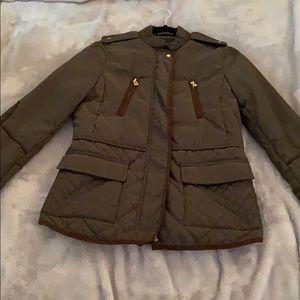 Zara Quilted and Detailed Jacket